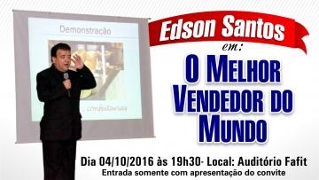 Palestra com Edson Santos