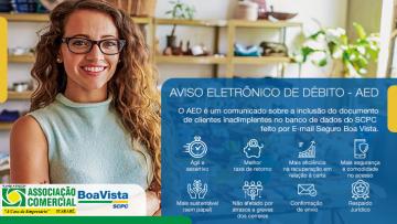 AED – Aviso Eletrônico de Débito da Boa Vista
