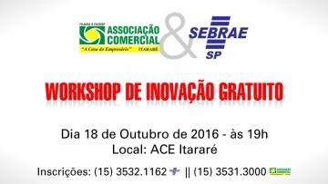 Workshop de Inovação Gratuito