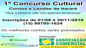 Concurso Cultural Contos e Lendas 2019