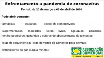 MUNICIPIO DE ITARARÉ DECLARA SITUAÇÃO DE EMERGENCIA