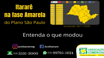 Atualização de fase Amarela Plano São Paulo