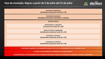 Governo de SP amplia horário de funcionamento do comércio até 23h a partir desta sexta-feira