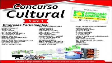 Participantes do Concurso Cultural 5 em 1
