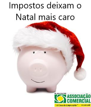 Carga Tributária pesa na ceia do brasileiro